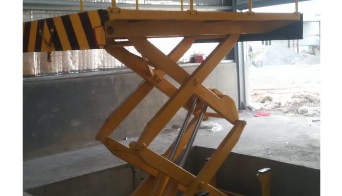 we manufacture Hydraulic Scissor Lifts. Hydraulic Aerial Work Platforms. Hydraulic Heavy duty scisso...