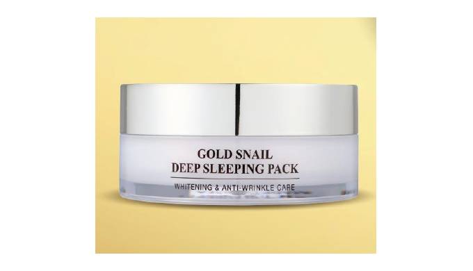 Gold Snail Deep Sleeping PackㅣCosmetic Pack
