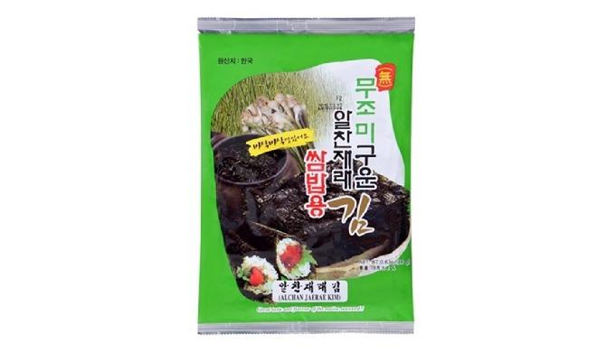 7-2) Alchanjaerae Non Seasoned Seaweed | dried jaerae laver