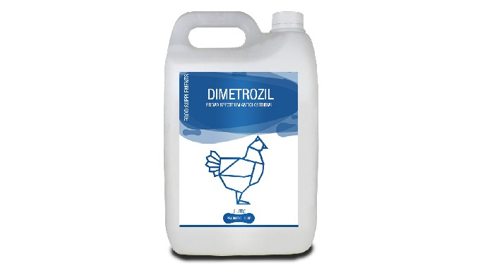 DIMETROZIL Dimetrozil is Broad spectrum anticlostridial and anticoccidial infections. Prevents and T...
