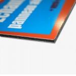 Un panneau Dibond en Aluminium solide pour vos publicités durable. Vous pouvez utiliser ces panneaux...