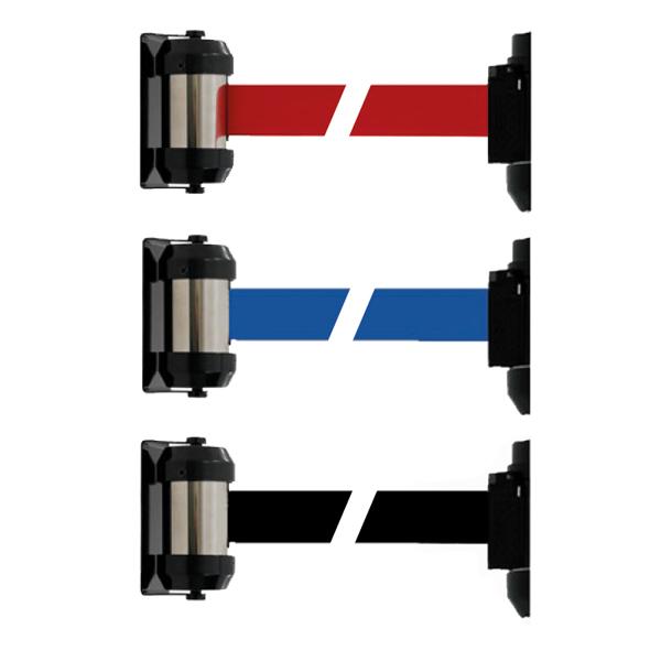 3 couleurs disponibles: Noir, Rouge ou BleuSangle H 5 cm x L 200 cmFixation au mur par vis, livré av...