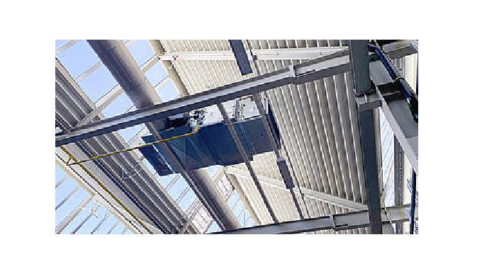 32.000 m2 auf Konstante 18 °C Hallentemperatur regulieren