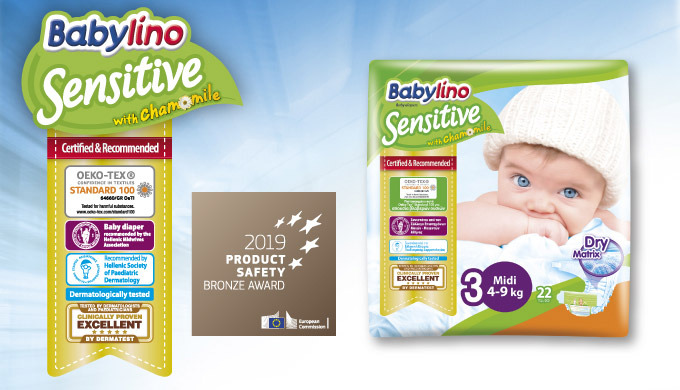 The Babylino Sensitive diapers offer much more than just absorbency. They have been designed with ca...