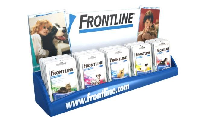 Ekspozytor ladowy Frontline