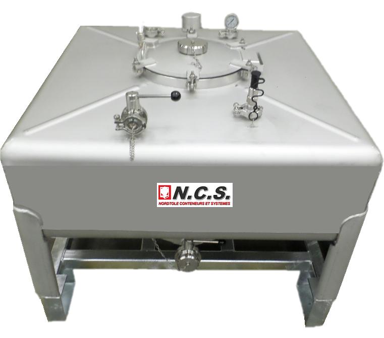 Caractéristiques techniquesConstruction INOX 304L ou 316LCapacité réelle de 100 litres à 2000 litres...