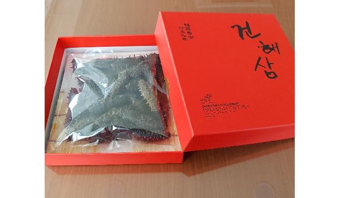 9-2) DRIED SEA CUCUMBER (500G GIFT SET) | SEA CUCUMBER FOOD