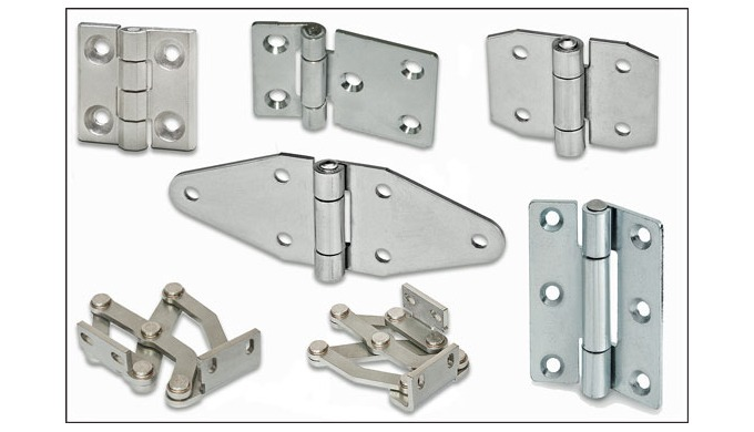 New Elesa stainless steel hinges in AISI 304 grade