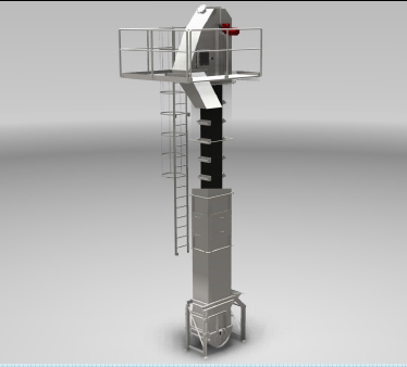 Centrifugaltömning Elevatorer som arbetar med tömning enligt centrifugalprincipen, dvs kastar materi...