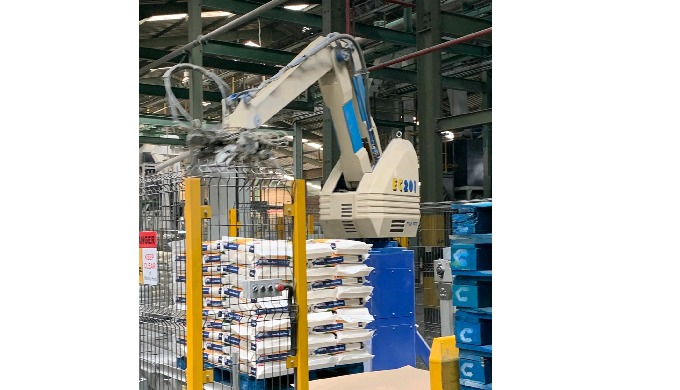 The No.1 palletizing robot in the world! Over 12,000 robotic palletizers have been installed worldwi...