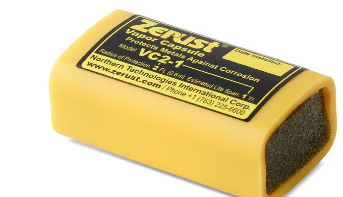 The Zerust VC2 1 vapor capsules are portable VCI emitter capsules that contain patent pending Zerust...