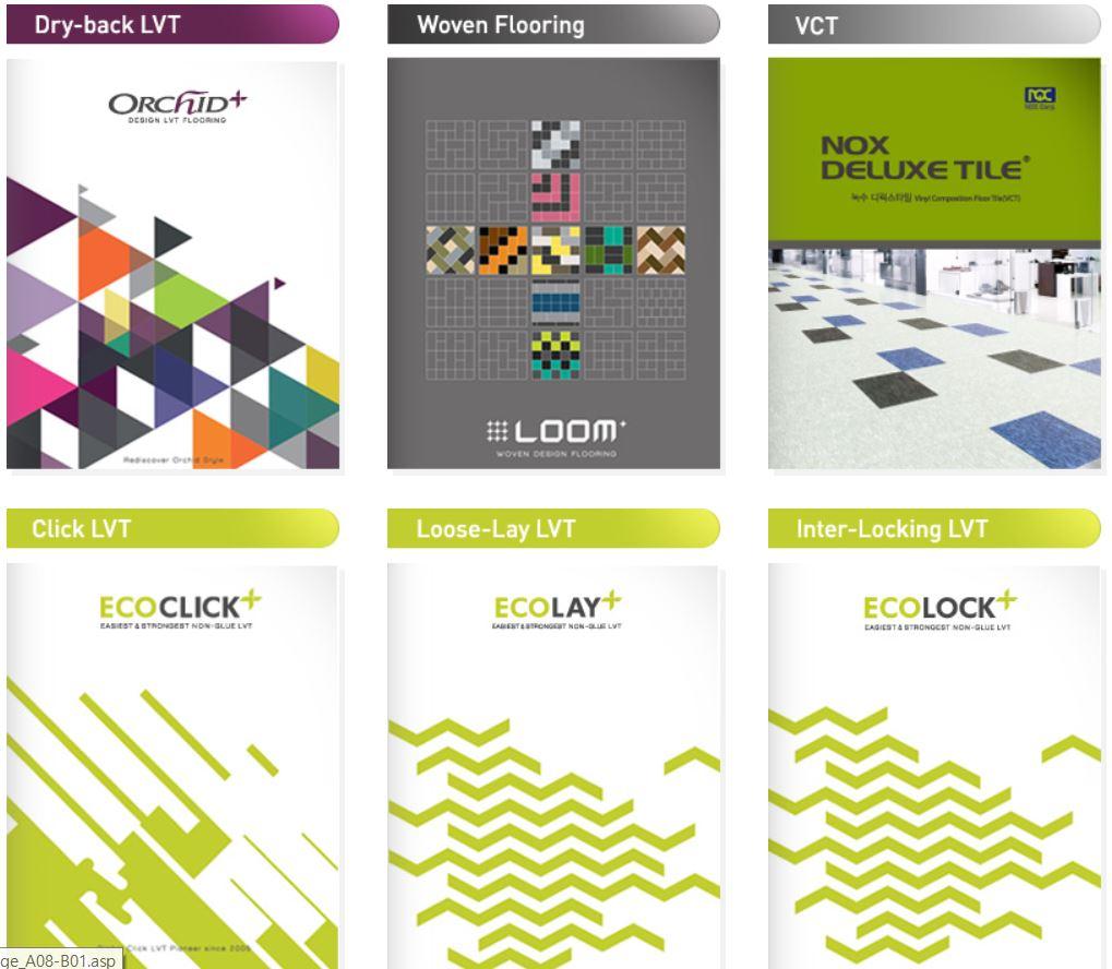 We, NOX, provide many different ranges of Vinyl Flooring Products called Luxury Vinyl Tile(LVT).Plea...