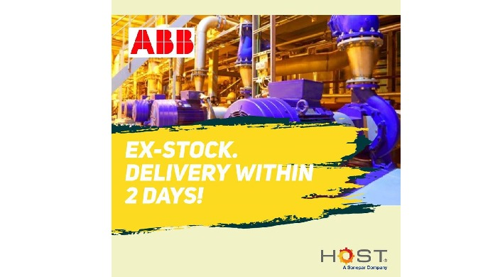 ABB Motors - ExStock / Delivery within 2 days ! ( Term & Condition apply )