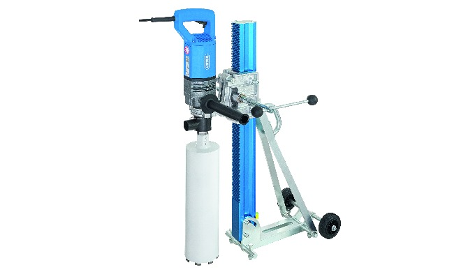 BDB825 (Made in Germany) Diamond dry core drilling machine for precise coring in reinforced concrete...