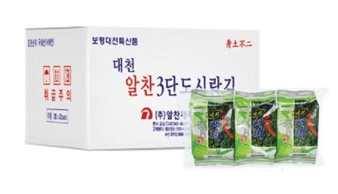 • له نكهة الوسابي مع الأعشاب البحرية الطبيعية من الساحل الغربي لكوريا الجنوبية. وهي تحظى بشعبية كبير...