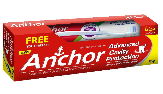 Anchor Advance cavity Protection- Fluoride Toothpaste