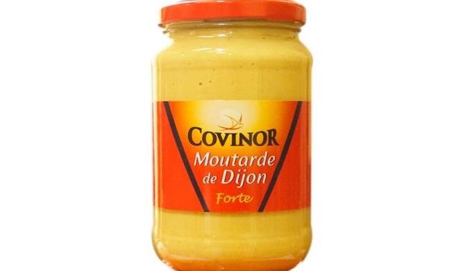 Moutarde en bocal
