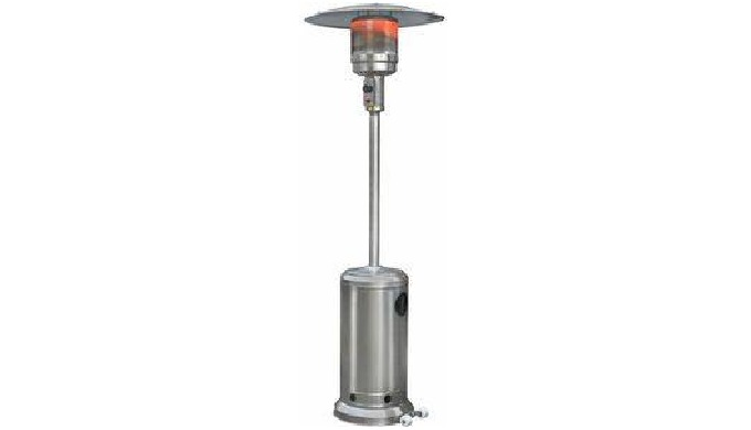 This Stainless Steel Patio Gas Heater is a nice addition to almost every garden or terrace. The 14kW...