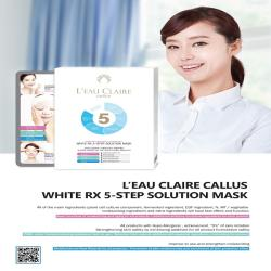 White RX 5-Step Solution Mask