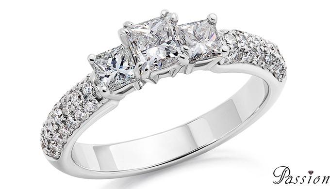 Votre amour est comme un diamant: pur et inaltérable