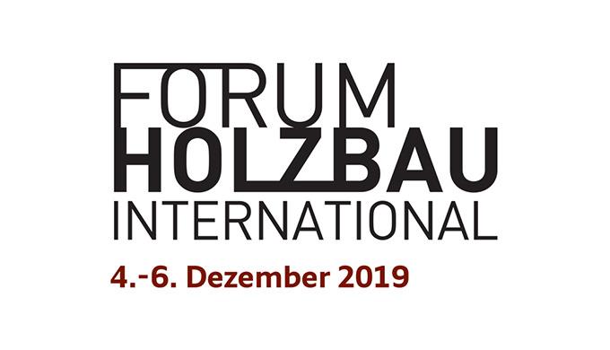 Forum Holzbau International 2019