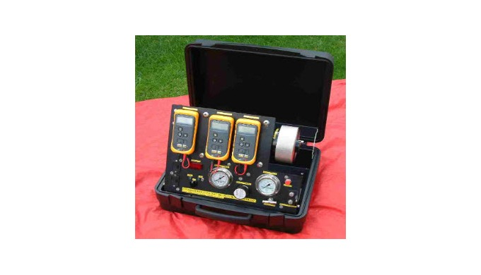 Specialist test equipment for field use can be specified and constructed. For example alongside we s...