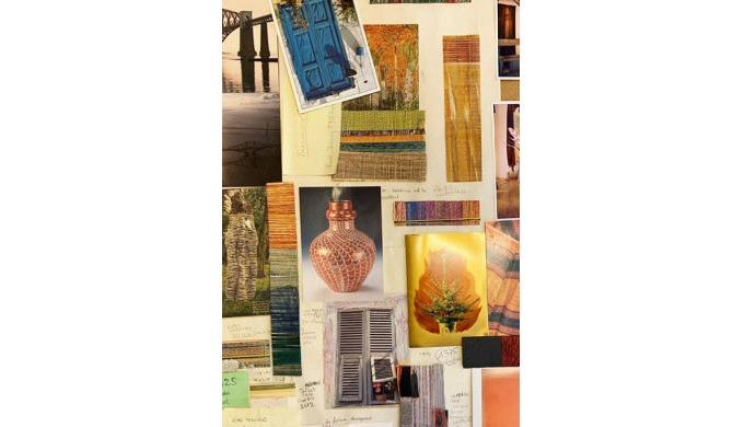 Bespoke Fabrics Bespoke Upholstery Fabric Ready-made scarves shawls and throws Bespoke Interiors Fab...
