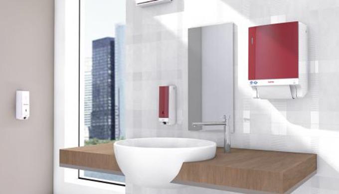 Waschraumgestaltung für jeden Anspruch in höchster Qualität Die CWS Spenderlinien bieten Ihnen moder...
