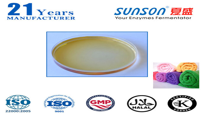 Acid cellulase enzyme for textile bio-polishing Conzyme DL ULTRA