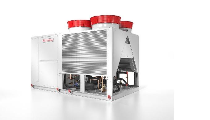 Chiller top di gamma per i Data Centre. Versione con compressori a vite con capacità frigorifera da ...