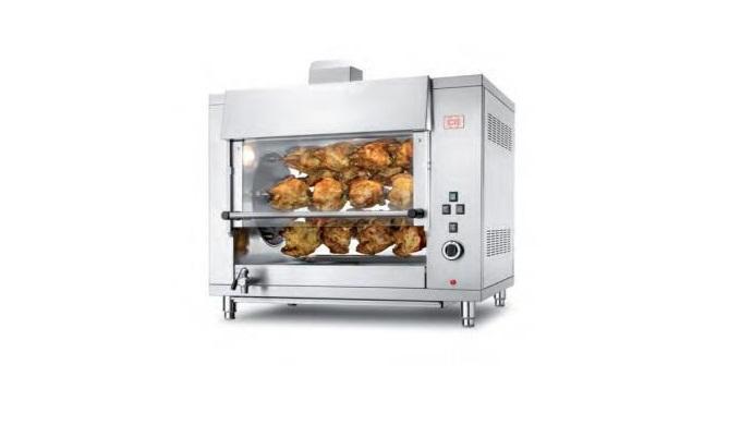 Gratare (pentru fripturi) de mare capacitate, pentru catering.