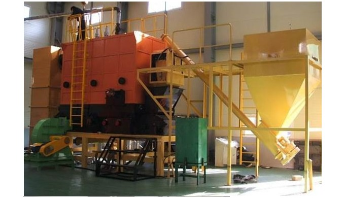 Industrial Wood Pellet(Coal) Multi-Tube Boiler