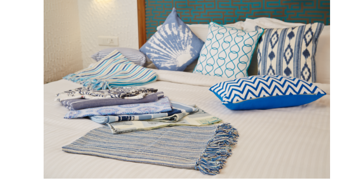 Our textile products are 100% cotton made with carefully crafted designs to make your bedroom more a...