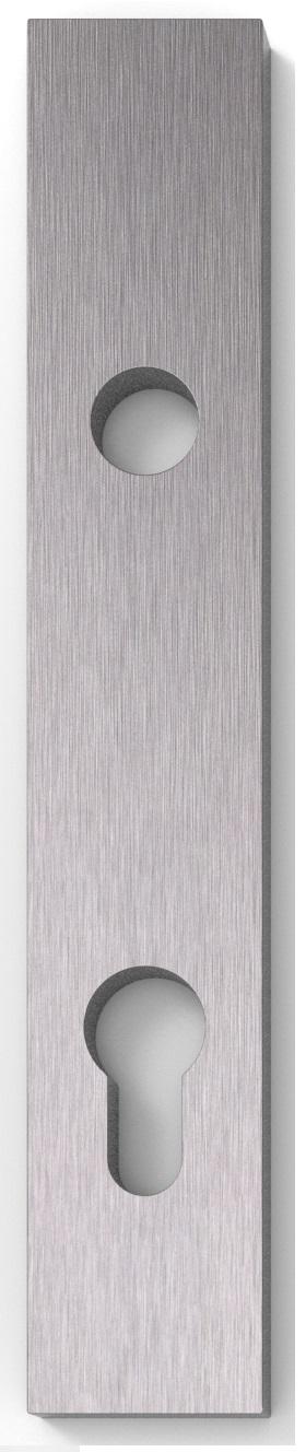 Zakázková výroba masivních štítů a rozet, libovolné parametry. MSS 05 - 08Slim plateSlim rosetteInfi...