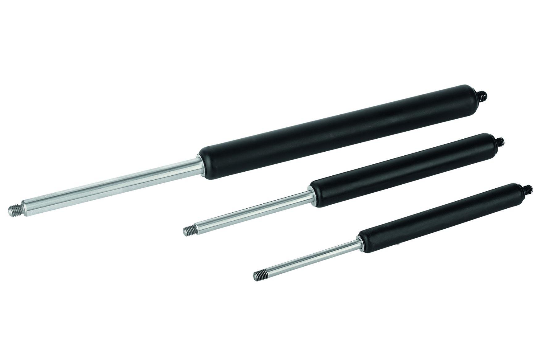 Material: Piston rod and pressure tube steel. Fill medium: oil, nitrogen. Version: Piston rod, hard ...