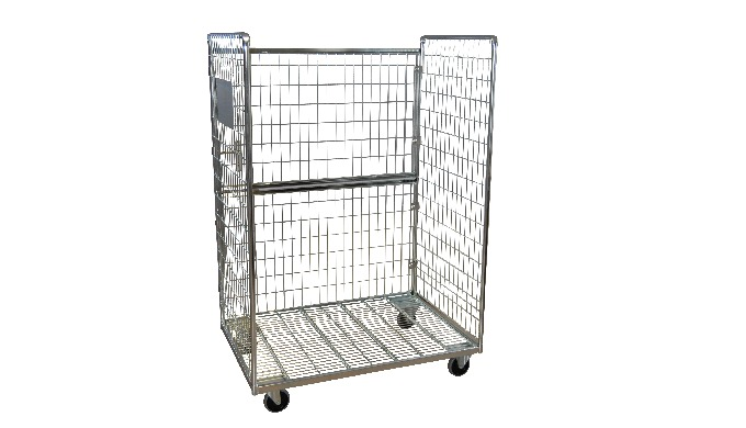 Produit: CHARIOT ROLL PALETTE Utilisation: Pour stocker, pour sécuriser vos produits, pour livrer vo...
