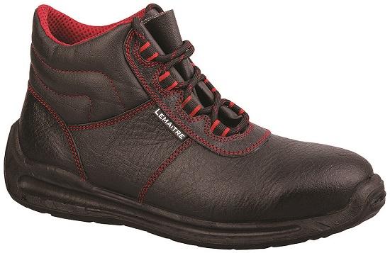 Kotníková obuv z lícové hladké usně s hydrofobní úpravou RIVA HIGH S2, S3 Svršek: lícová useň s hydr...