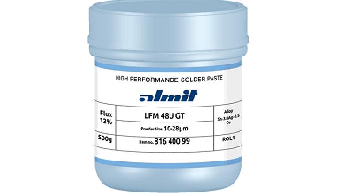 Cepelec vous propose la pâte à braser LFM-48W MR-NH de la marque Almit, acteur mondial dans le domai...