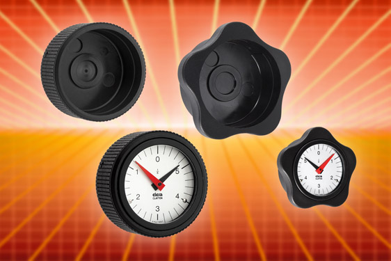 The VC.792-XX lobe knob is suited to Elesa's gravity and positive drive plastic or metal indicators ...