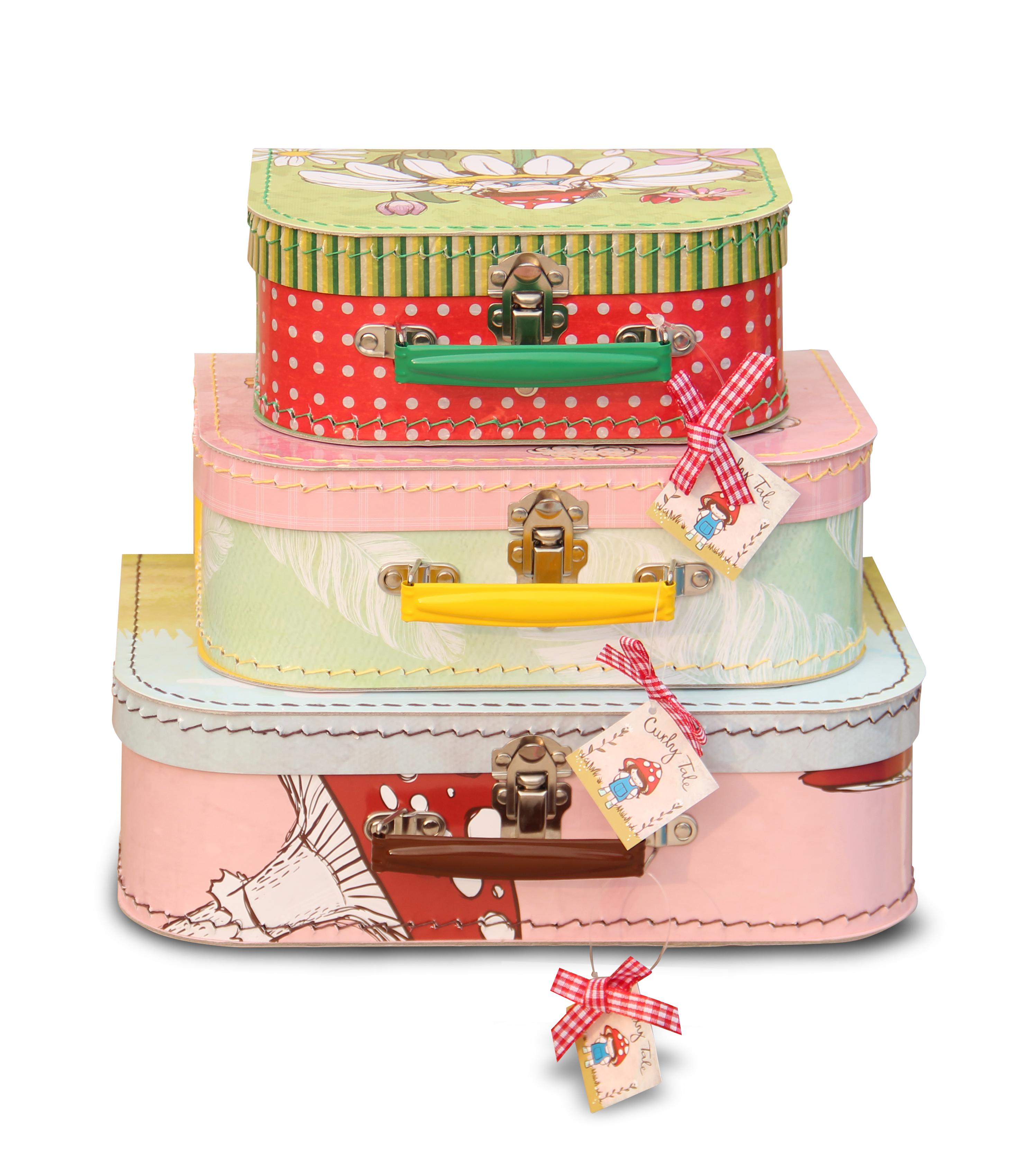 Sada dětských kufříků