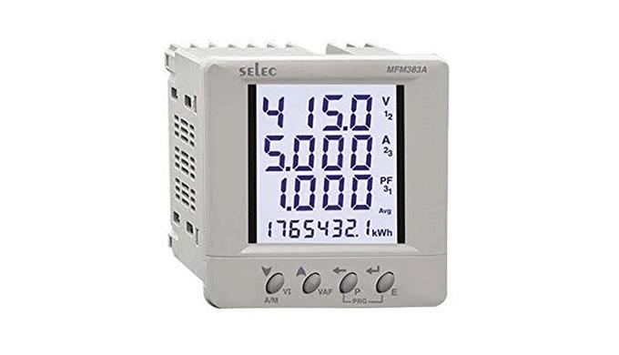 Ronak Switchgear - wholesaler and distributor of SELEC Multifunction Meters in India. Buy SELEC Mult...