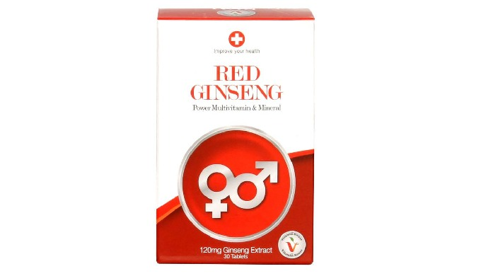 Red Ginseng Power Multi vitmain & Mineral