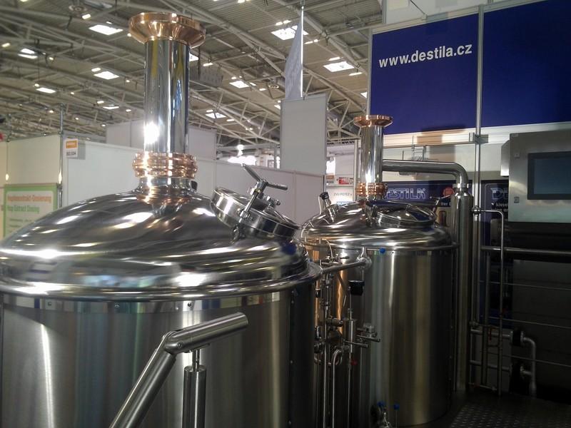 DESTILA s.r.o. - přední dodavatel malých průmyslových pivovarů, mikropivovarů i kompletního vybavení...