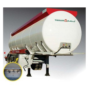Véhicules conçus pour le transport de produits hydrocarbures. Pression de service maxi 0,3 bar. Cite...