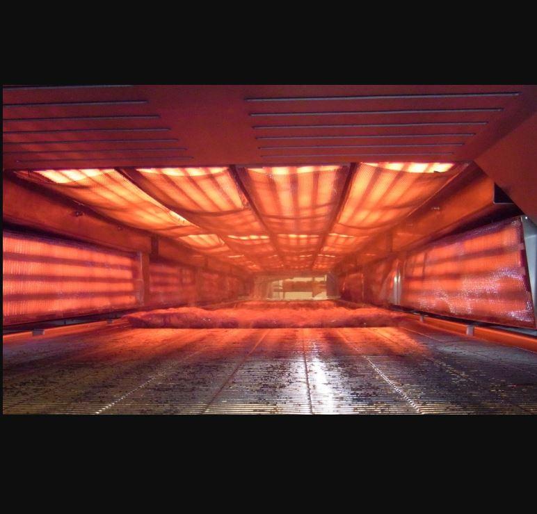 Four infrarouge de braisage de Produits Carnés