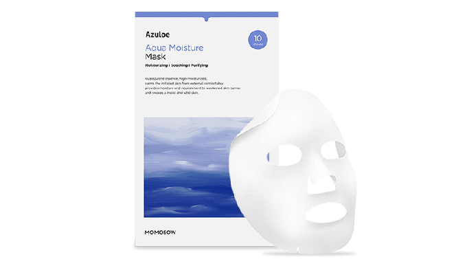 Azuloe Aqua Moisture Mask_High-moisturized essence sheet mask