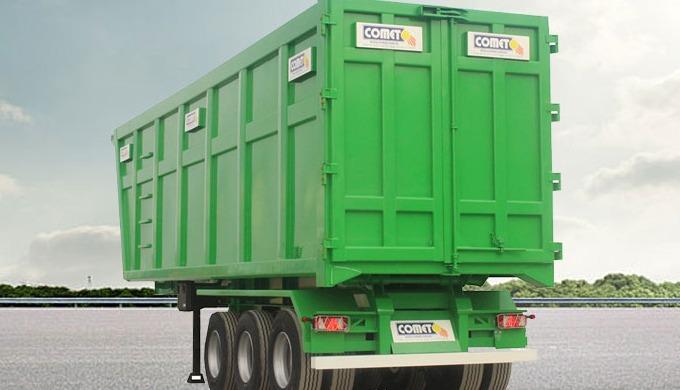 La benne à ferraille COMET est parfaitement adaptée à l'usage intensif pour le transport des déchets...