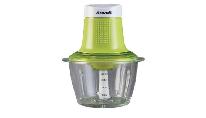 Image01 : HachoirHAC300V - Vert - Capacité de 1 L - Bol en verre - Hâchez tous types d'aliments Imag...