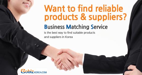 Gobizkorea is online space where overseas buyers meet reliable Korean suppliers, manufacturers, prod...