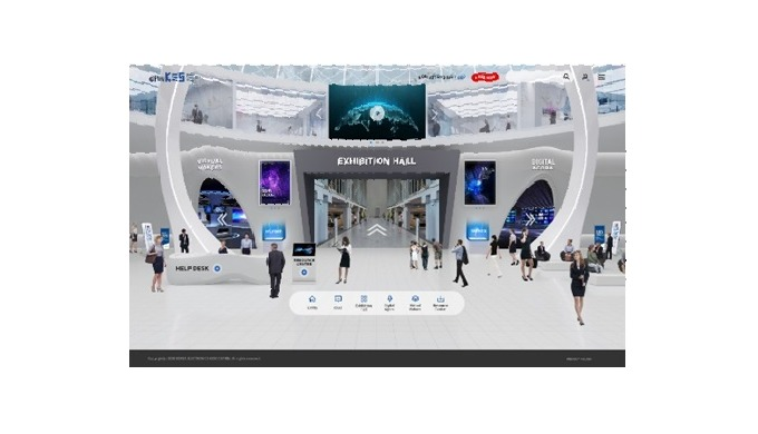 Live Virtual Exhibition Hall